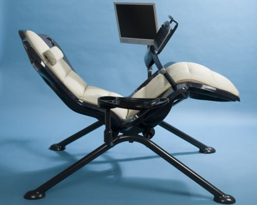 Zero-Gee Computing Recliner Proves Our Fat Future is Now