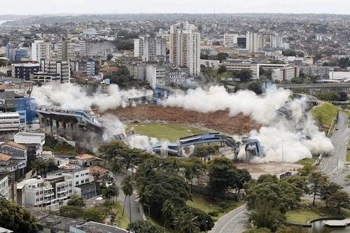 Smoke Monster Attacks Brazilian Soccer Stadium