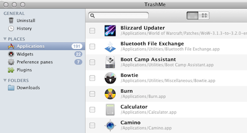 TrashMe is a Full-Featured Uninstaller for Mac