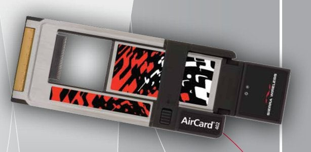 Sierra Wireless's AirCard 402 Is an Interchangeable PC-Card and ExpressCard