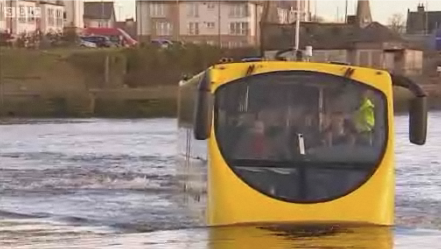 Amphibious Bus Runs Into Water, Trouble, But Is Back Now
