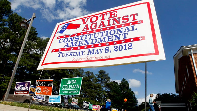 North Carolina Sadly Votes to Constitutionally Ban Gay Marriage