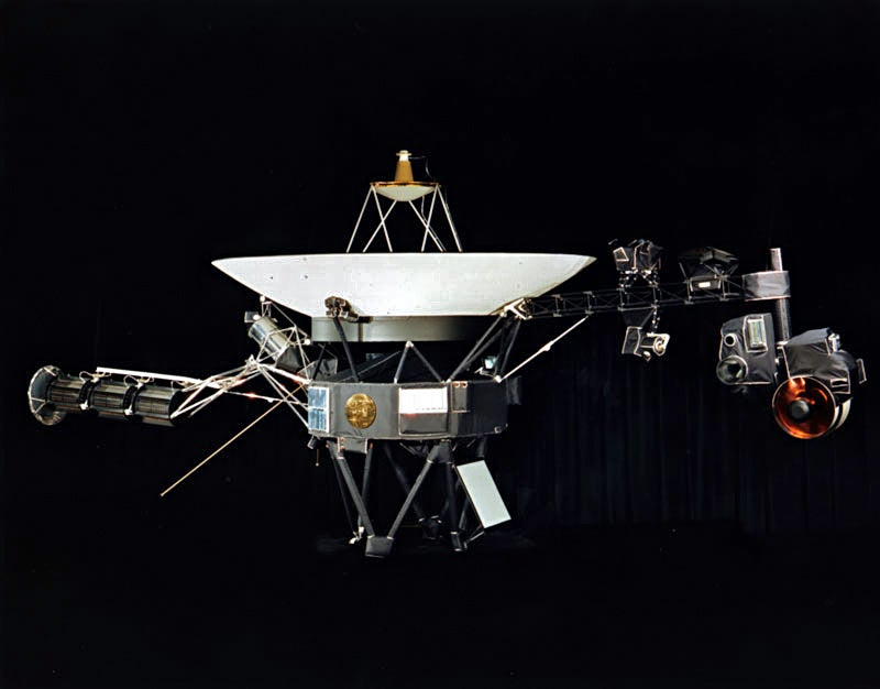 Voyager Is About to Leave the Solar System