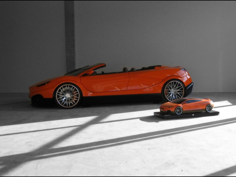 Savage Rivale Roadyacht GTS: World's First Four-Door Folding Hardtop Supercar