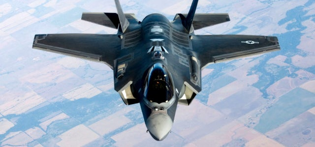 The F-35 has a friendly R2-D2 on board connected to an evil HAL 9000