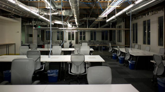 The Weird and Creepy Side of Facebook's New Office