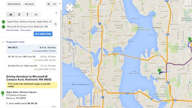 Access Classic Google Maps Through This URL