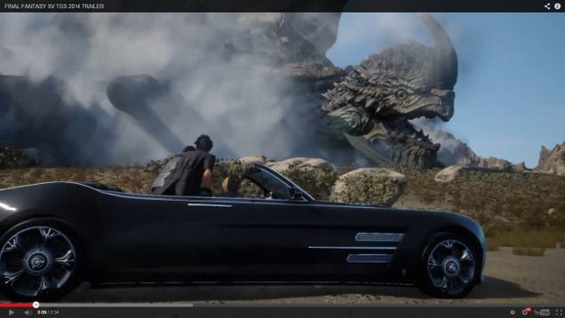 Ffxv Has A Trailer And It S Got A Convertible