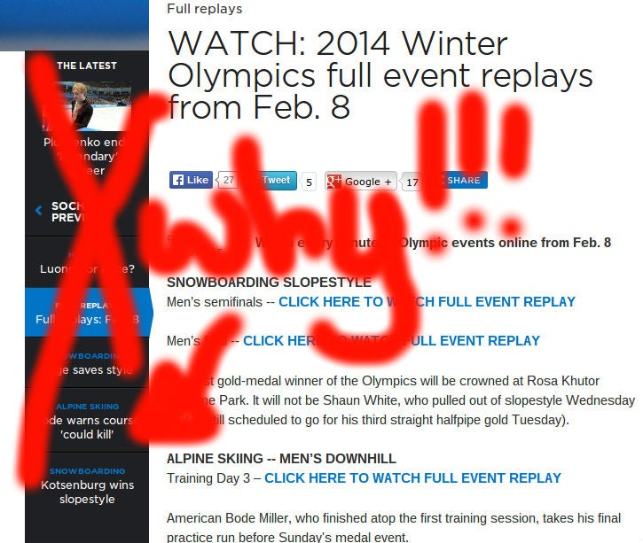 Watch NBC Olympics Streams While Avoiding Spoilers UPDATED