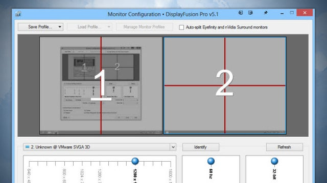 DisplayFusion Pro Adds Monitor Splitting and Mouse Control, Is 25% Off
