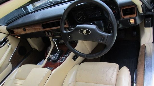 Pack your brandy, rifles and breakdown kit in this Jaguar