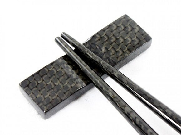 Carbon. Fiber. Chopsticks.