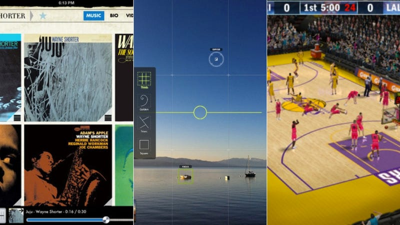 NBA 2K13, Camera Awesome, and More