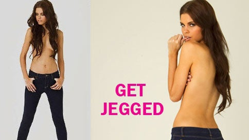 Teen Retailer Shills Jeggings With Racy Topless, Ass-Wiggling Ads