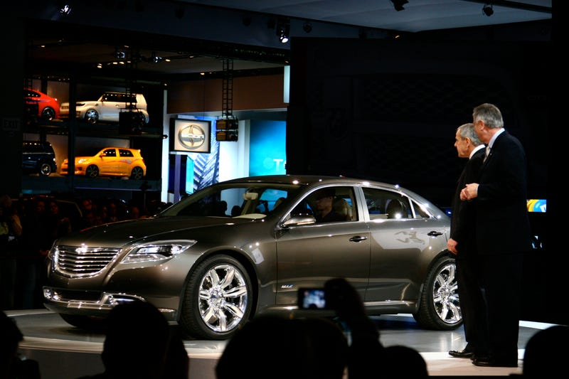 Top Ten 2009 Detroit Auto Show Galleries: Day One