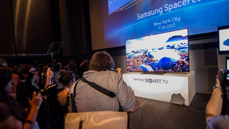 Samsung's New 75-Inch HDTV Is a Beautiful Beast