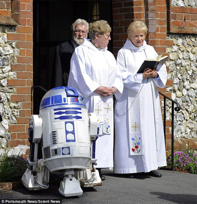Boy's Dying Wish Was For A Star Wars Funeral