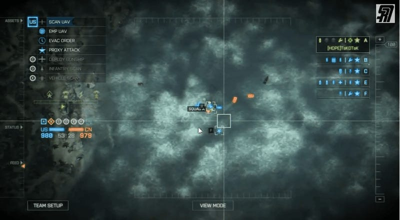 Megalodon In Battlefield 4 From The Commander's Perspective
