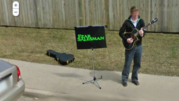 Musician Finds Minor Fame by Stalking Google Street View Car