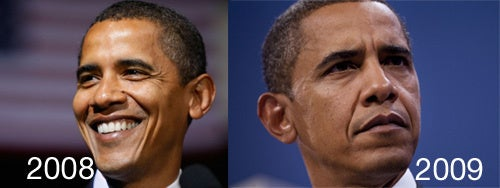 Everybody Panic: President Obama Looks Old