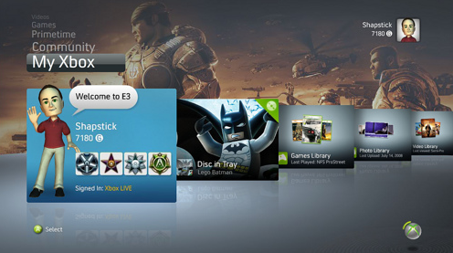 How Themes May Look In The New Xbox Experience