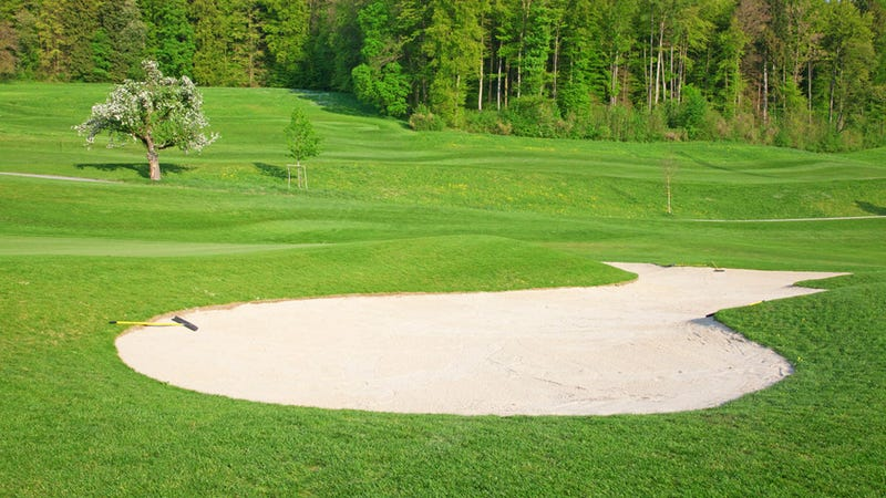 Drunk Driver Gets Stuck in a Sand Trap After Her GPS Tells Her to Drive Onto a Golf Course