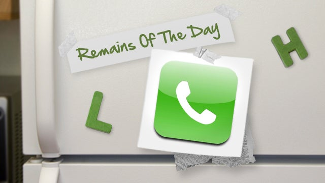 Remains of the Day: Apple Temporarily Disables Password Resets Over the Phone