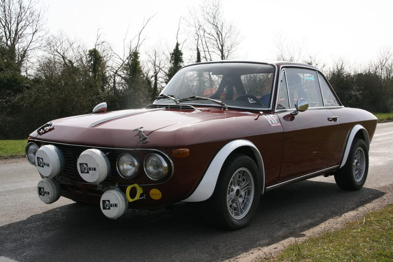 Why The 1969 Lancia Fulvia Coupe Is The Most Beautiful Car In The World