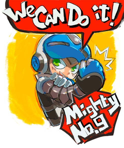 Of Course Mega Man's Spiritual Successor Already Has Cool Fan Art