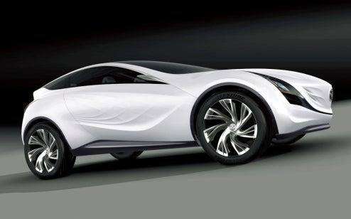 Mazda Kazamai To Show Off Swirling Crosswinds In Moscow