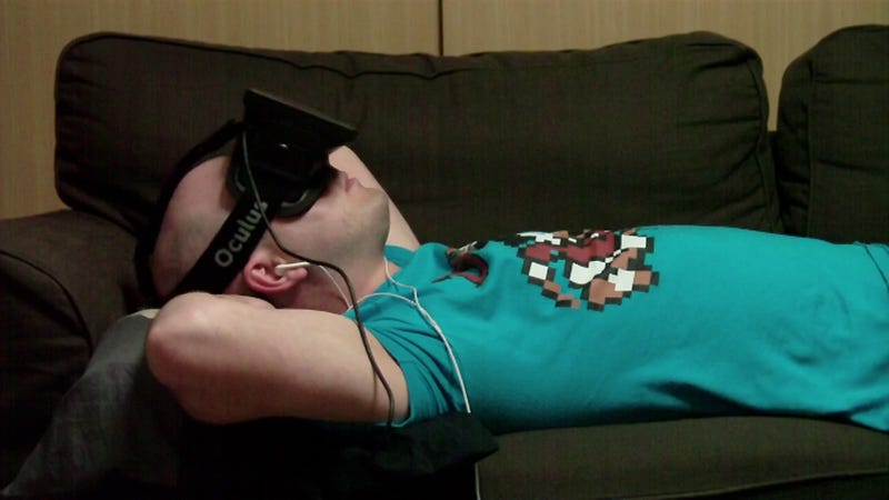 What It's Like to Watch Movies on the Oculus Rift