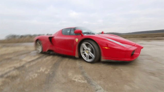 The Ferrari Enzo WRC Video In Nine Gifs