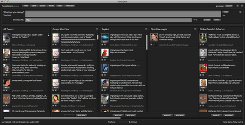 TweetDeck Offers Features Twitter Lacks