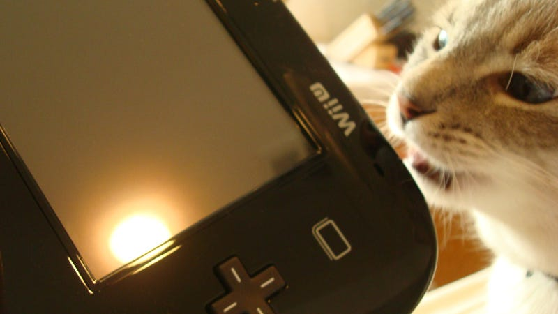 Step Aside, Jessica Chobot Licking A PSP. There's A New Scandalous Picture, And It Involves The Wii U.