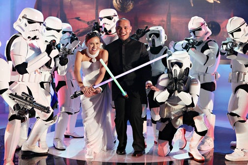 The Definitive Star Wars Wedding