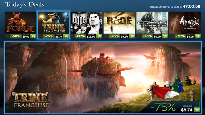The Steam Holiday Sale Is Getting An Encore This Weekend