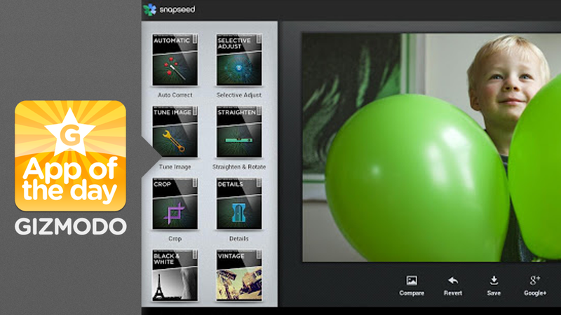 Snapseed for Android: Powerful Photo Editing Even for Amateurs