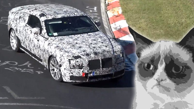Hey Rolls Royce: Get The Hell Off The Nürburgring