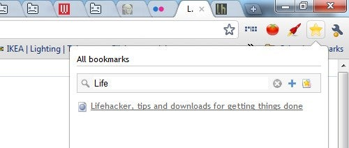 Lite Bookmarks Is an Instant-Search Google Bookmarks Manager