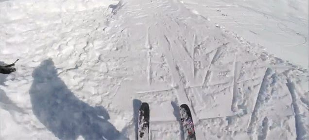 Awesome Ski Jump Video Will Make You Wish for Winter