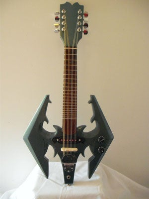 You Can't Play Skyrim's Lutes, But You Can Play a Skyrim...Electric Guitar