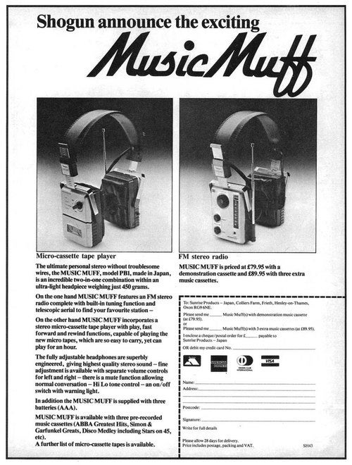 The Music Muff Accommodates Your Micro-Cassette