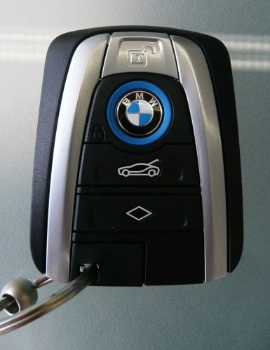 Remember that awesome i8 key? It is reportedly less awesome now