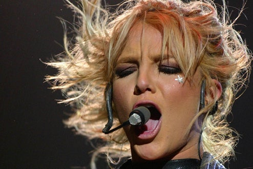 Britney's Going Through The Motions; GaGa Wants Foursome With Jonas Bros.