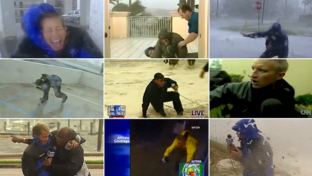 The 10 Best Videos of Reporters Being Blown Away by Hurricanes