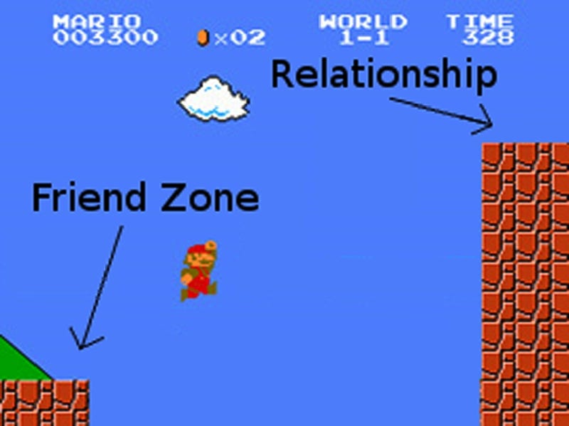 Mario Explains Relationships for Us