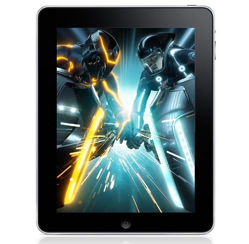Badass Tron Legacy and Iron Man 2 iPad Wallpapers