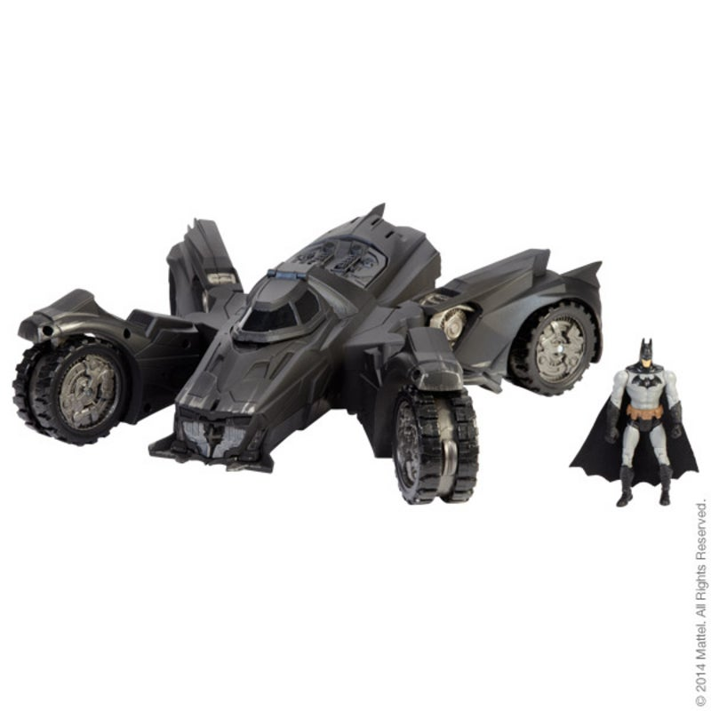 The New $80 Arkham Knight Batmobile Toy