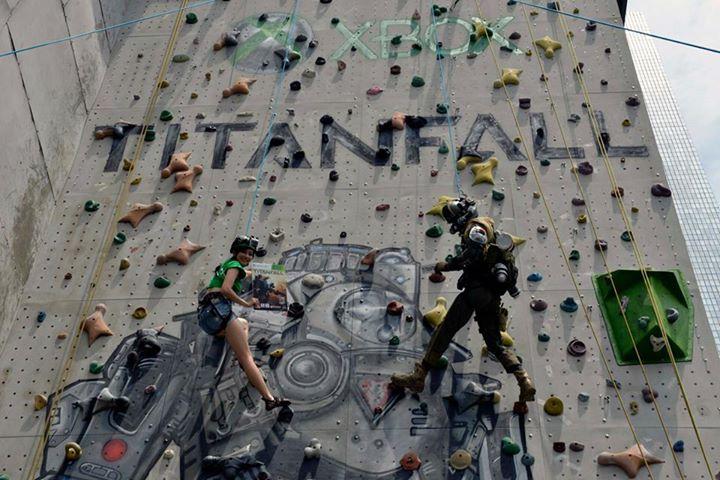 Titanfall Climbing Wall In Hong Kong