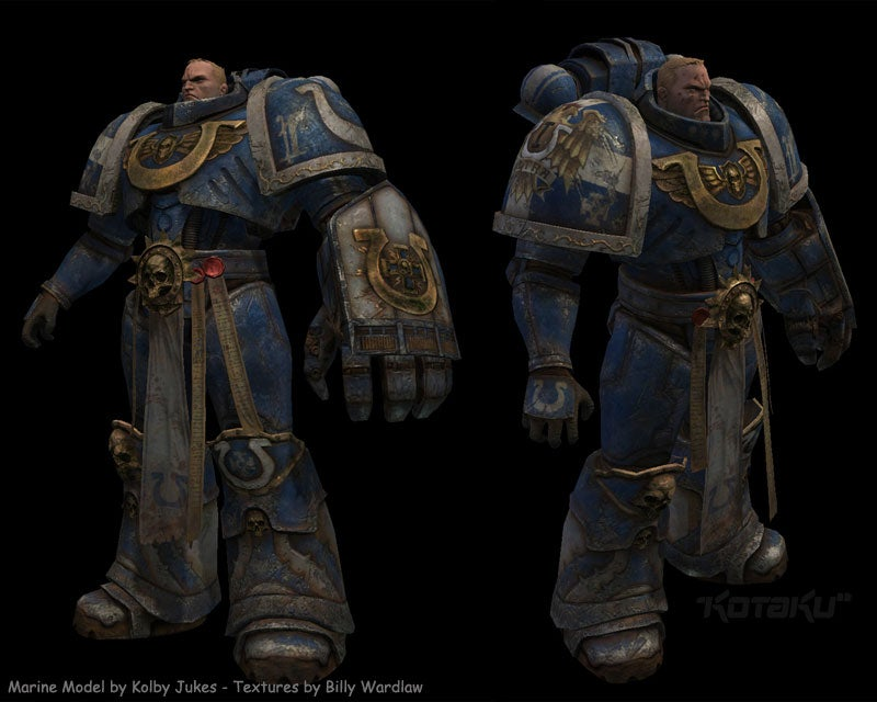 An Early Look At The Warhammer 40K MMO
